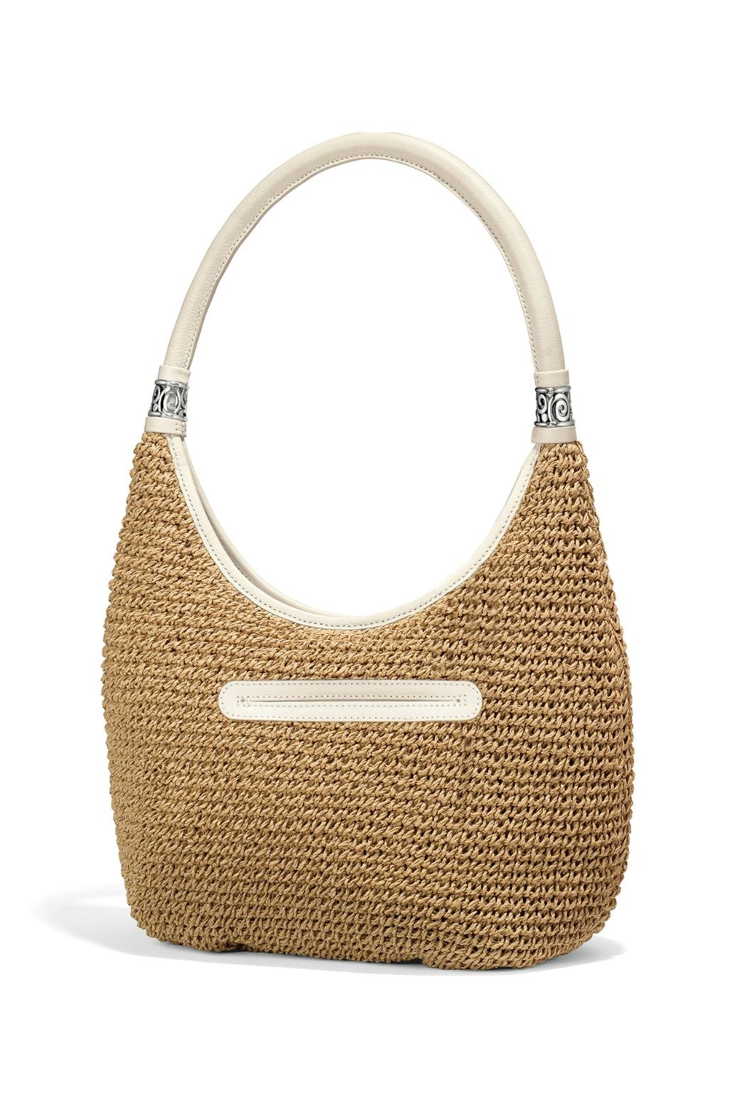 Brighton Shelby Straw Shoulderbag - Side Cropped Image