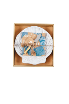 Mud Pie Shell Cheese Plate - Product List Image