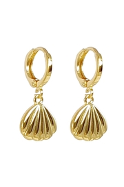 Baggis Accesorios Shell Earing - Front cropped
