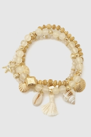 Embellish Shell Stretch Bracelet - Product Mini Image
