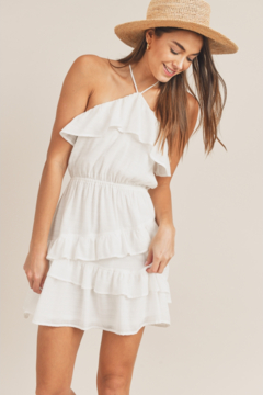 Sadie & Sage Shell We Dance Ruffle Dress - Product List Image