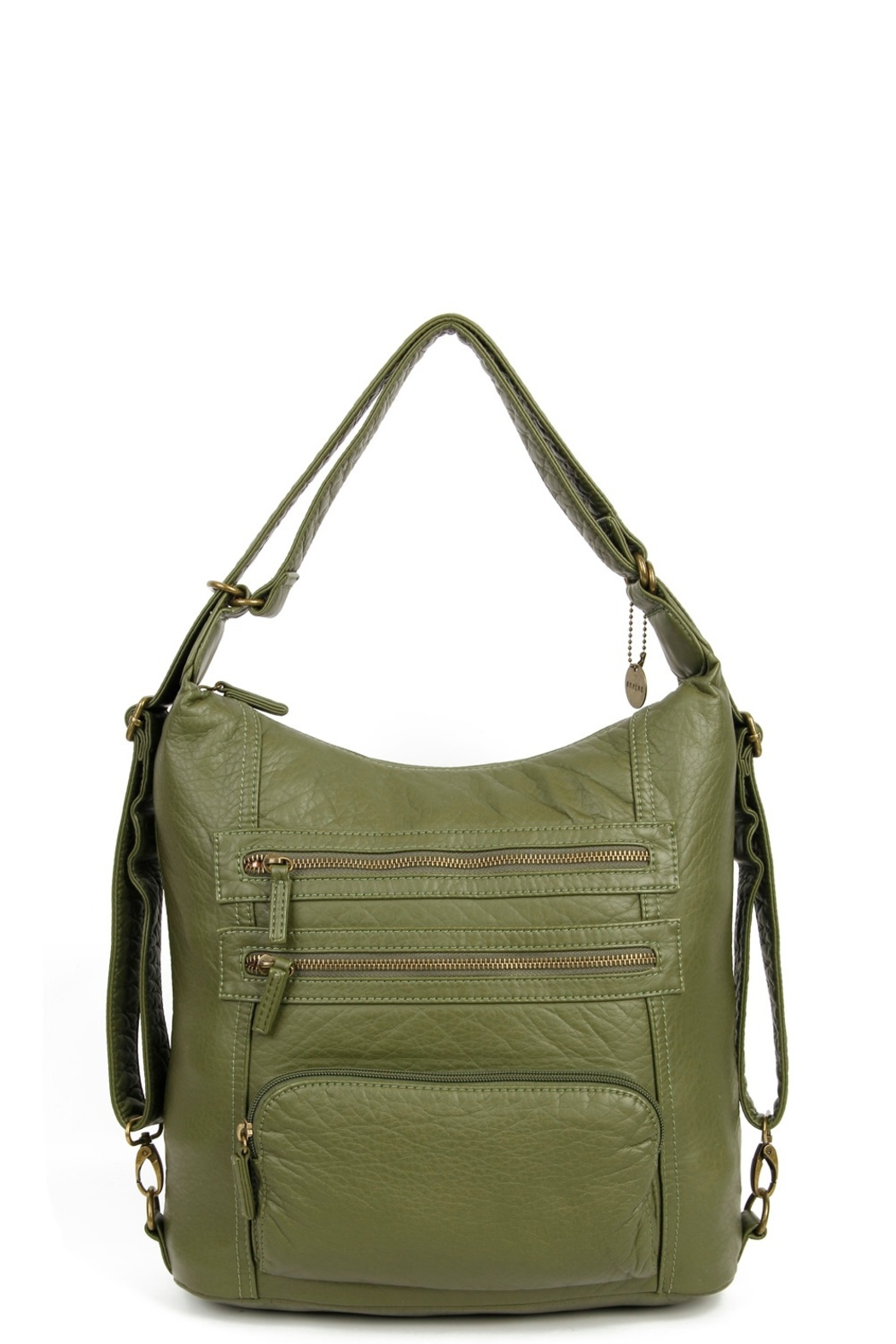 Ampere Creations shella convertable backpack and hobo bag - Front Cropped Image