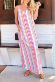 Staccato Sherbet Stripe Maxi - Product Mini Image