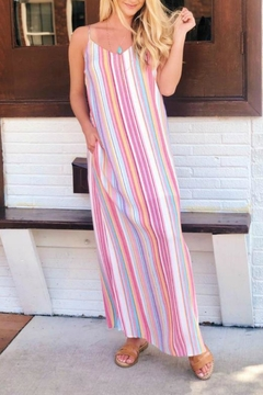 Staccato Sherbet Stripe Maxi - Alternate List Image