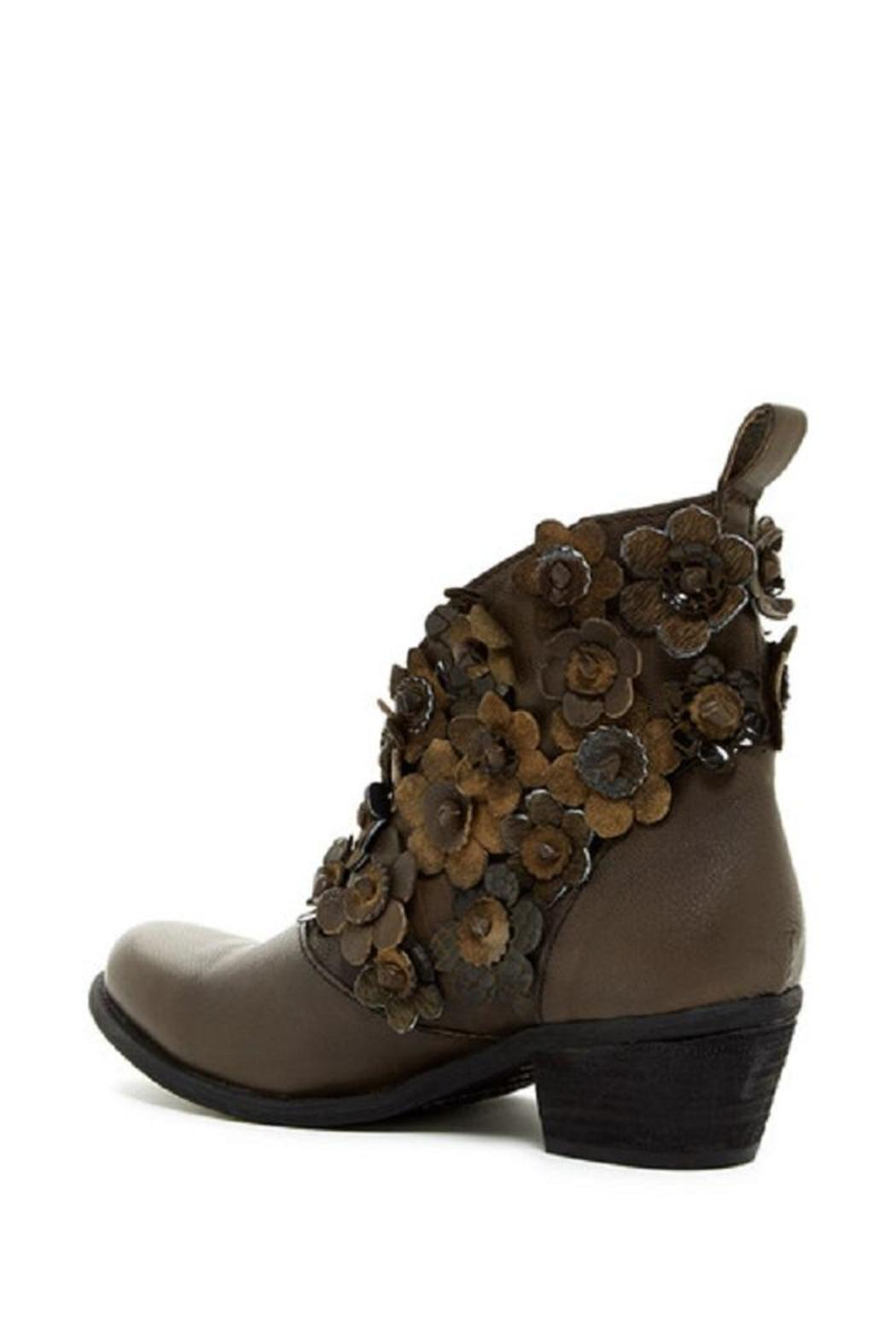 Sheridan Mia Flowered V Cut Bootie - Side Cropped Image