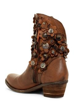 Shoptiques Product: Leather Flowered Boot