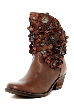 Sheridan Mia Leather Flowered Boot - Product List Image