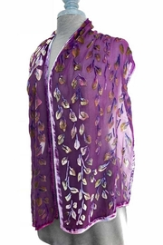 Sherit Levin Textiles Berry Vine Scarf - Front full body