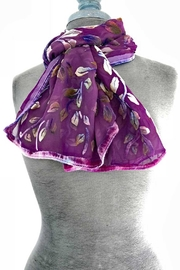 Sherit Levin Textiles Berry Vine Scarf - Product Mini Image