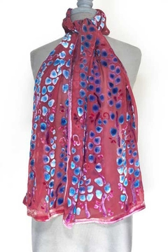 Sherit Levin Textiles Red Willows Scarf - Product List Image