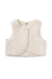 Tea Collection Sherpa Baby Vest - Product Mini Image