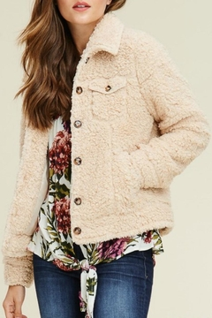 Staccato Sherpa Bomber Jacket - Product List Image