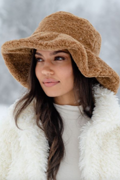 Shoptiques Product: Sherpa Floppy Hat