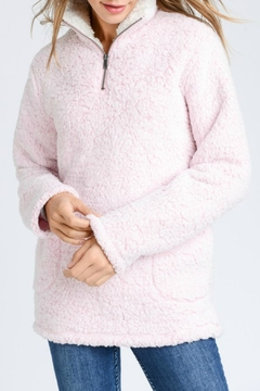 Shoptiques Product: Sherpa Half-Zip Pullover