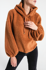 Z Supply  Sherpa Hoodie Pullover - Product Mini Image