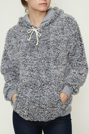 Fantastic Fawn Sherpa Hoodie Pullover - Product Mini Image