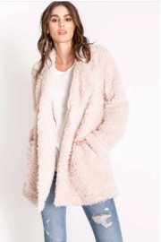 PJ Salvage SHERPA JACKET - Front cropped