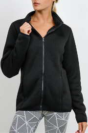 Mono B Sherpa Lined Jacket - Product Mini Image