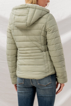 Trend Notes  Sherpa Lined Puffer Coat - Alternate List Image