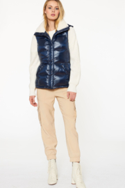 Sanctuary Sherpa-lined Puffer Vest - Other