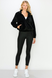 Kimberly C. Sherpa Pullover - Front full body
