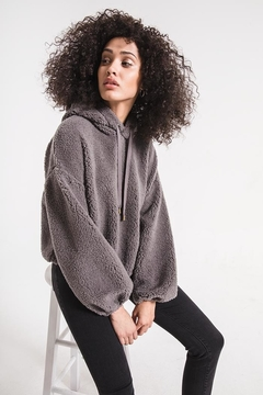 z supply Sherpa Pullover Hoodie - Product List Image