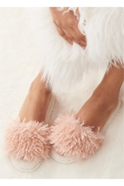Giftcraft Sherpa Slippers - Front cropped