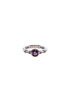 Shoptiques Product: Braided Amethyst Ring