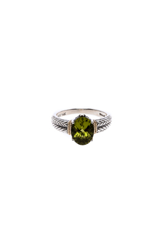 Shoptiques Product: Oval Peridot Ring