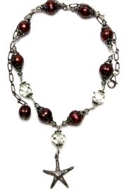 Sheyen Deluz Necklace Quartz Pearls - Product Mini Image