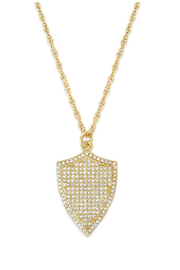 Erin Fader Jewelry Shield Necklace - Product Mini Image