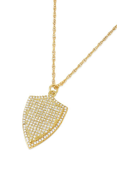Erin Fader Jewelry Shield Necklace - Alternate List Image
