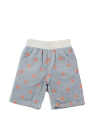 Egg  by Susan Lazar Shiffley Nautical Short - Front cropped