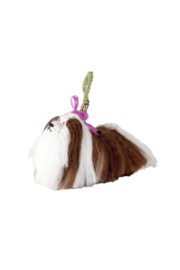 Arcadia Home Shih-Tzu Ornament - Hand Knit Alpaca Blend - Product Mini Image