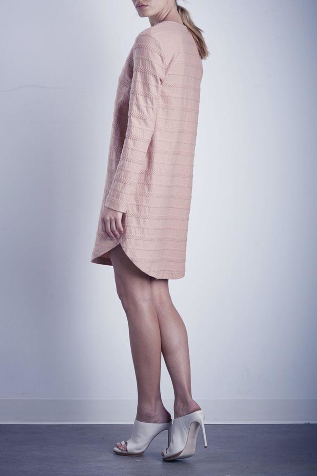 Shilla Beyond Textured Dress - Front Full Image