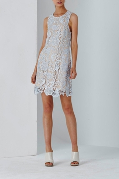 Shilla Blue Lace Dress - Product List Image