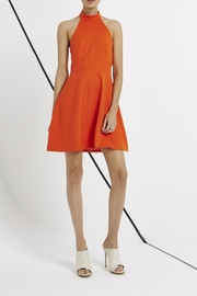 Shilla Halter Flare Dress - Product Mini Image