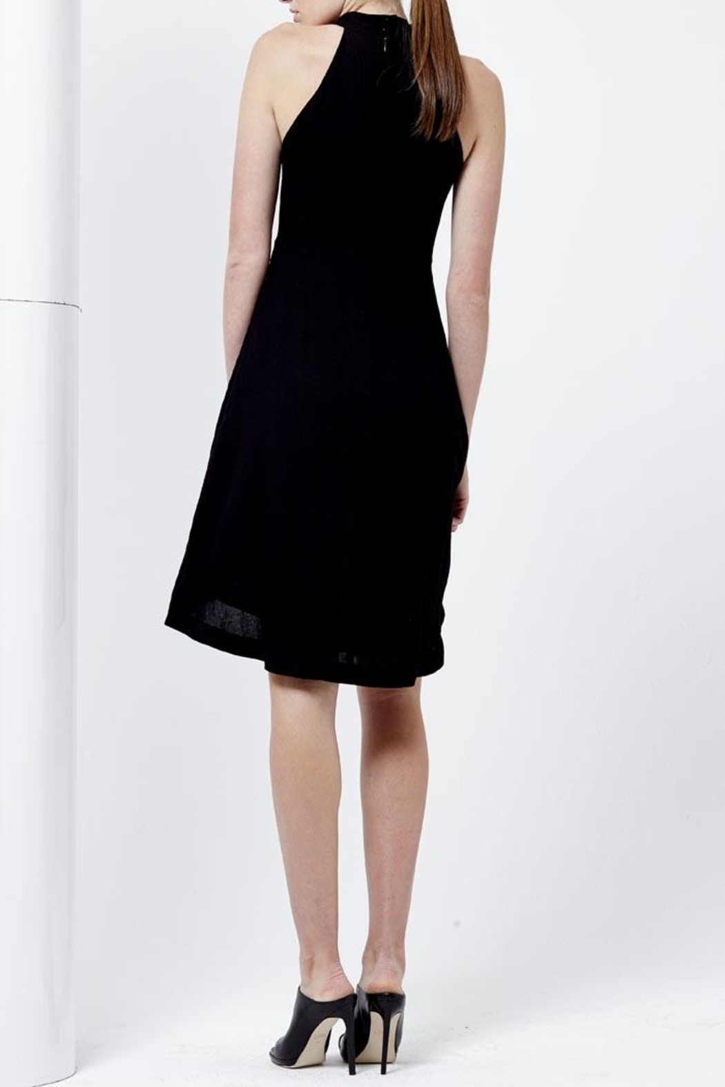 Shilla Rapture Hi-Lo Dress - Side Cropped Image