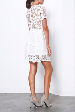Shilla White Lace Mini Dress - Alternate List Image