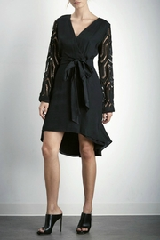 SHILLA THE LABEL Contrast Sleeve Dress - Front cropped