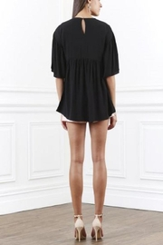 SHILLA THE LABEL Ornate Flared Top - Front full body