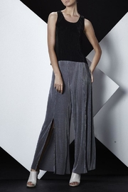 SHILLA THE LABEL Pleated Slit Pants - Product Mini Image