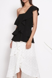 SHILLA THE LABEL Power Peplum Top - Product Mini Image