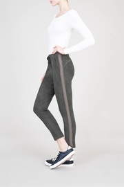 Level 99 Shiloh Faux Suede Jogger - Side cropped
