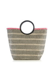 Shiraleah Shiloh Straw Tote - Front cropped