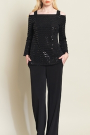 Clara Sunwoo Shimmer Bell-Sleeve Top - Product Mini Image