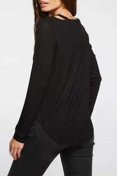 Chaser Shimmer Jersey L/S Vented Shoulder Top - Alternate List Image
