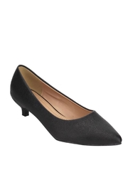 Compendium boutique Shimmer Kitten Heel - Front cropped