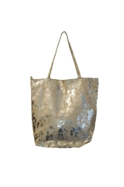 Latico Shimmer Leather Tote Bag - Product Mini Image