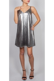 AAKAA Shimmer Mini-Shift Dress - Product Mini Image